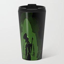 Green shadow Travel Mug