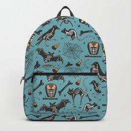 Halloween X-Ray Blue Backpack