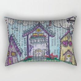 Lil' Village Rectangular Pillow