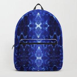 Ikat Shibori Blues Backpack