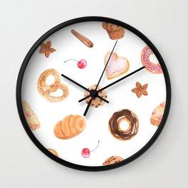 Delicious Treats Wall Clock