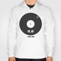 record Hoodies featuring For the Record by David Olenick
