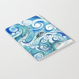 Shark wave Notebook