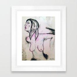 Pink 001 Framed Art Print