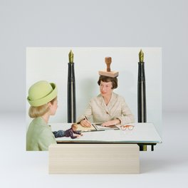 Bureaubrats Mini Art Print