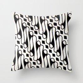 Parang Batik Throw Pillow
