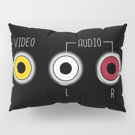 Plug in your mood! (Music + Video) Pillow Sham