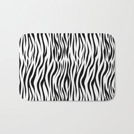 Zebra skin pattern design Bath Mat