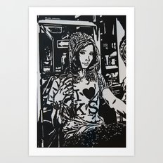 I HEART KS Art Print