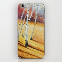 Fall Maple Trees iPhone Skin