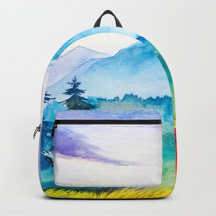 Autumn scenery #8 Backpack