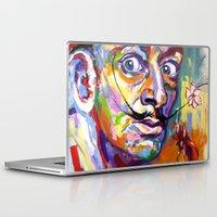 salvador dali Laptop & iPad Skins featuring salvador dali by yossikotler