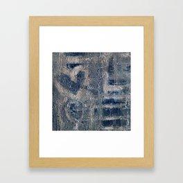 Message Wall Framed Art Print