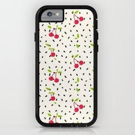 Raining Cherries iPhone Case