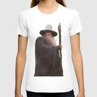 gandalf T-shirts featuring gandalf the grey by alexflee