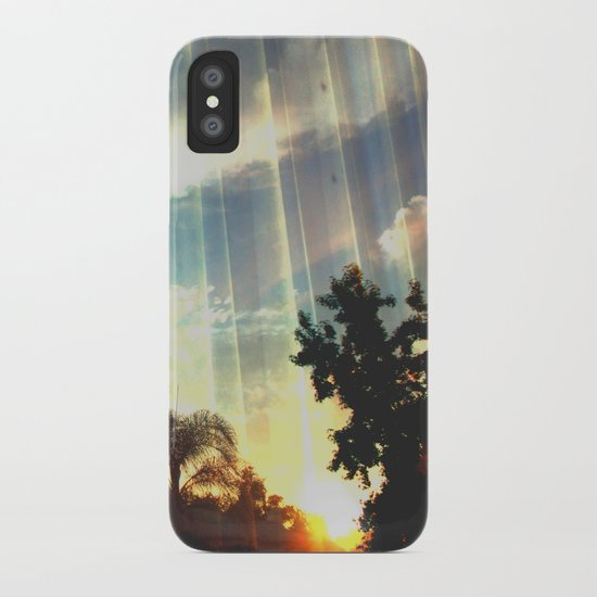 Enter to the Divine iPhone Case