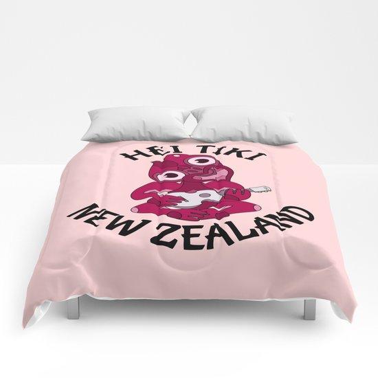Pink Hei Tiki with Ukulele Comforters