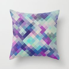 on the cool side Throw Pillow