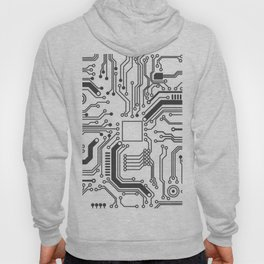 Circuit Board Art Hoody