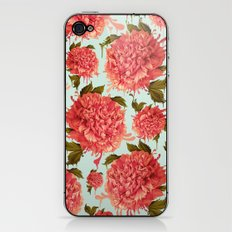 A Splash of Peony, A Dash of Color iPhone & iPod Skin