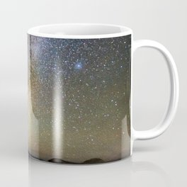 Grand Prismatic Spring Under The Milky Way Coffee Mug
