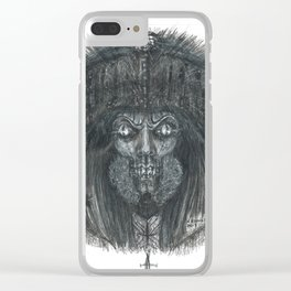 GhoulCloset Clear iPhone Case