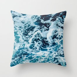 Lovely Seas Throw Pillow