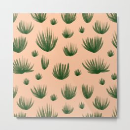 Organ Pipe Cactus: Creamsicle Metal Print