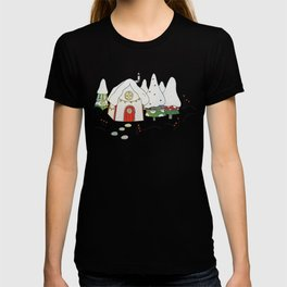 Winter cottage T-shirt