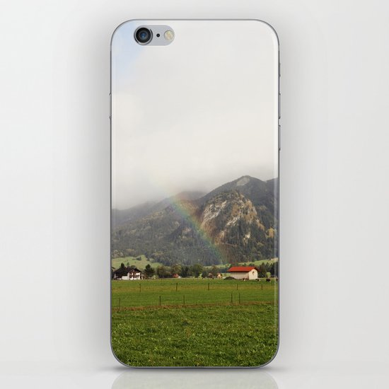 Rainbow in the Valley iPhone & iPod Skin