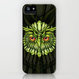Crystal Owl EDC iPhone Case