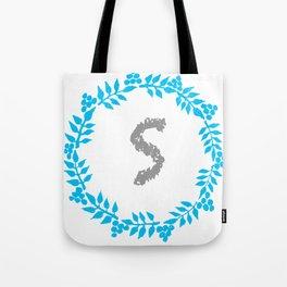 S White Tote Bag