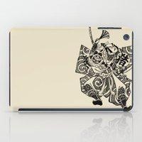 samurai iPad Cases featuring Samurai by Scalifornian
