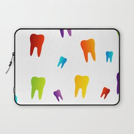 Colorful Sweet tooth Laptop Sleeve