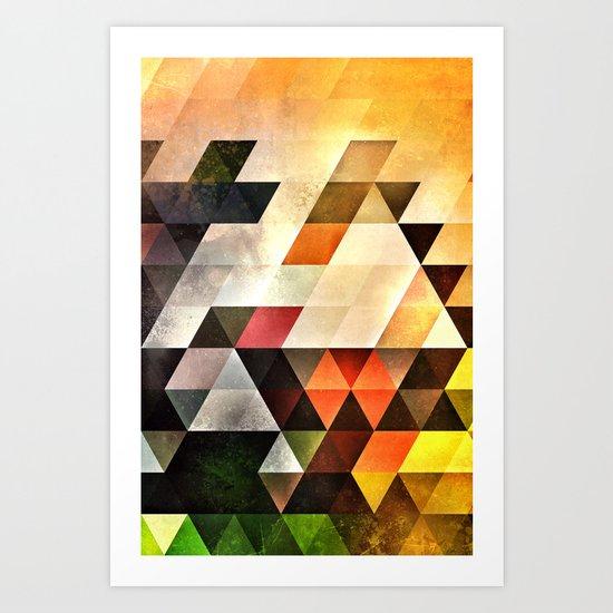bryyx pyynx Art Print