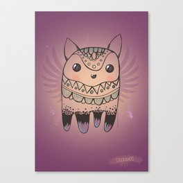 Jelly Fox Canvas Print