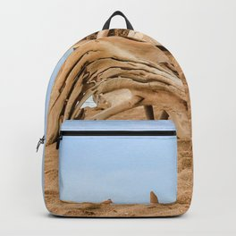 beached wood Backpack