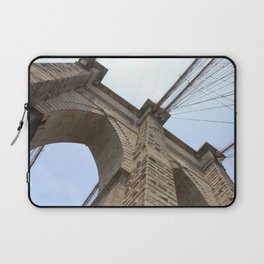 A Different View of The Brooklyn Bridge  Laptop Sleeve