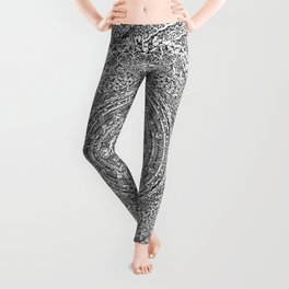 Mandala Dante Inferno Leggings
