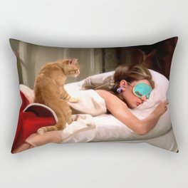 Audrey Hepburn #4 @ Breakfast at Tiffany's Rectangular Pillow