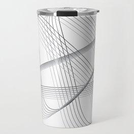 Neverending lines Travel Mug