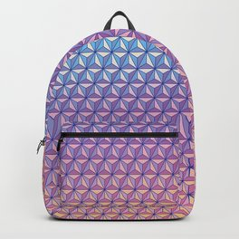 Geodesic Pattern Backpack