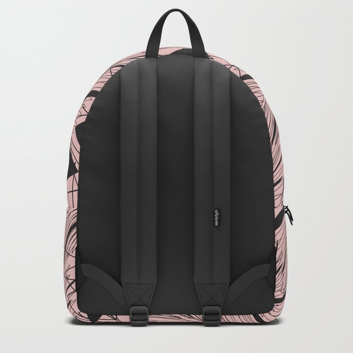 Abstract Blushr Backpack