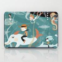underwater iPad Cases featuring underwater by Orit Bergman