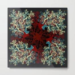Ocean coral. Metal Print