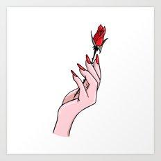 Como La Flor Art Print