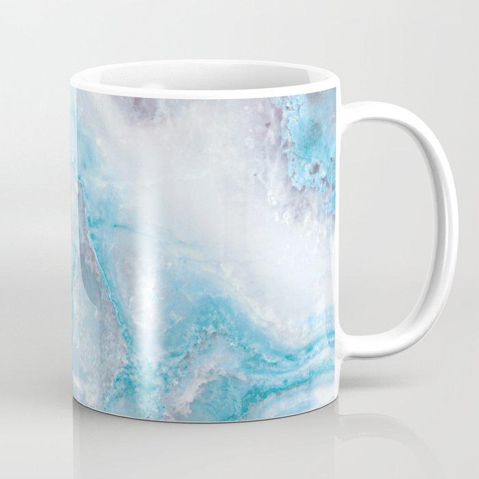 Ocean Foam Mermaid Marble Coffee Mug