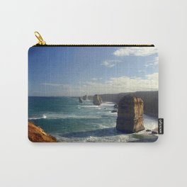 Rock Stacks & Gigantic Mainland Cliffs Carry-All Pouch