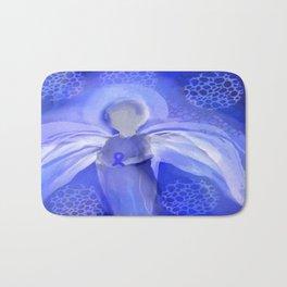 Cancer Awareness Angel Bath Mat