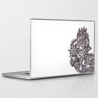 doodle Laptop & iPad Skins featuring Doodle by viktoria vitez